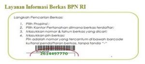 cek sertifikat bpn online