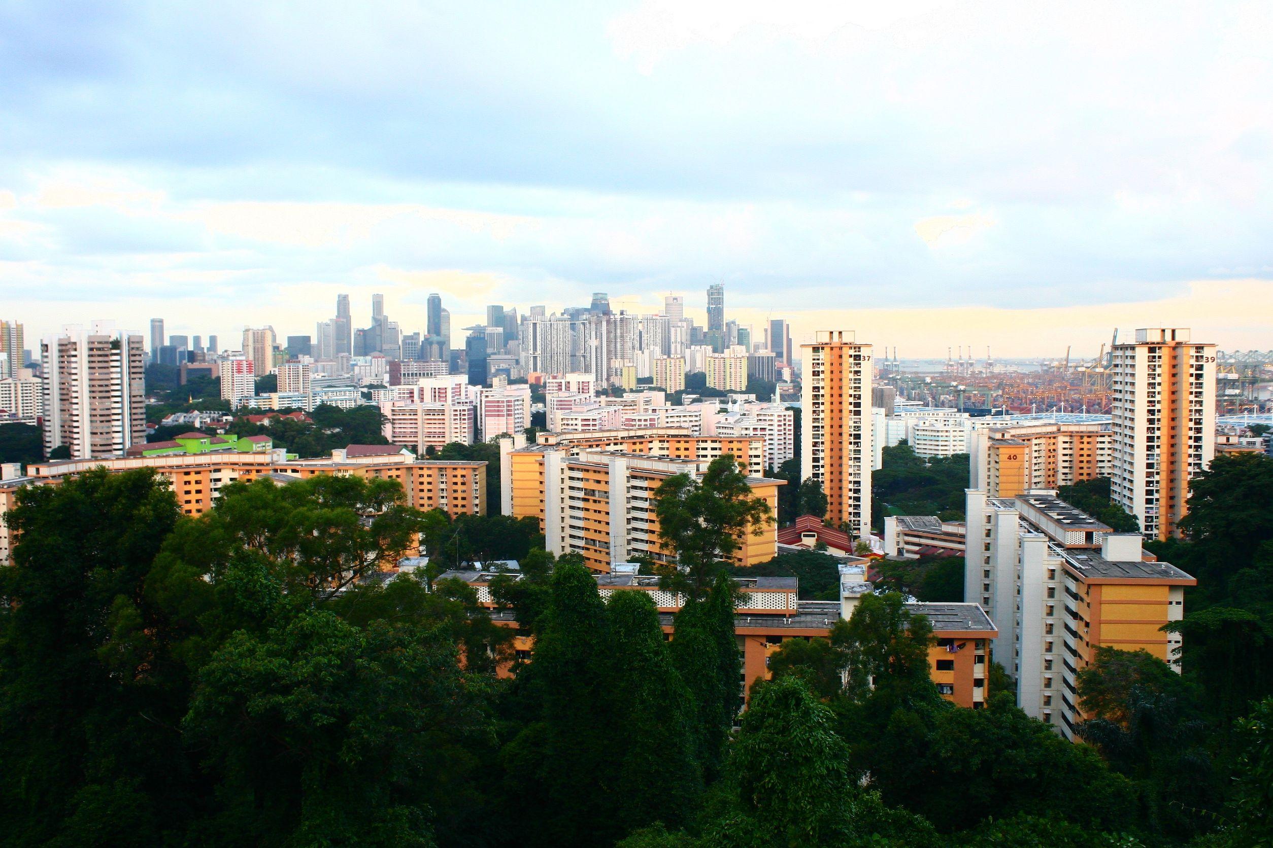 22574566 - singapore public housing, urban landscape hdb flats