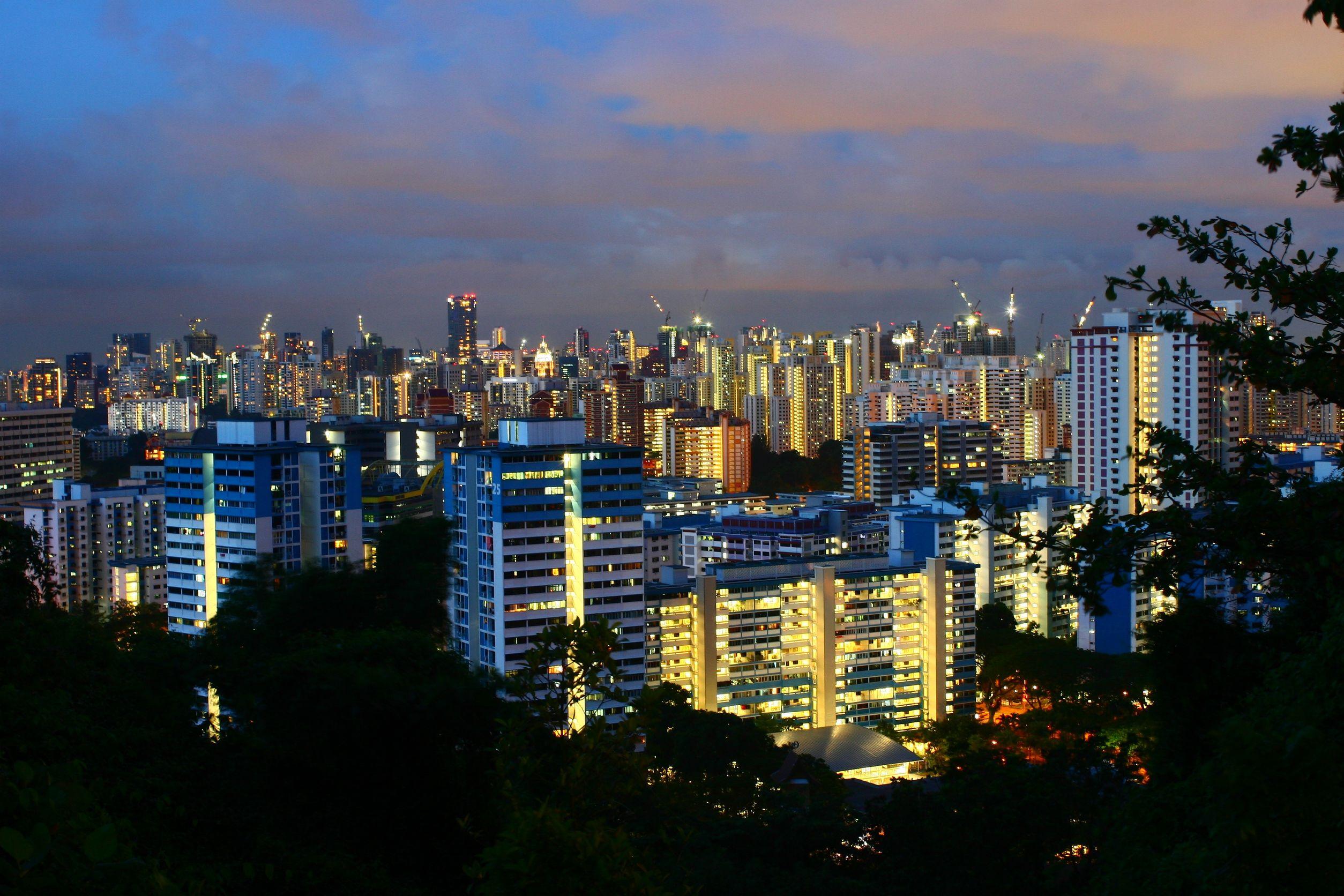 22574565 - singapore public housing, urban landscape hdb flat