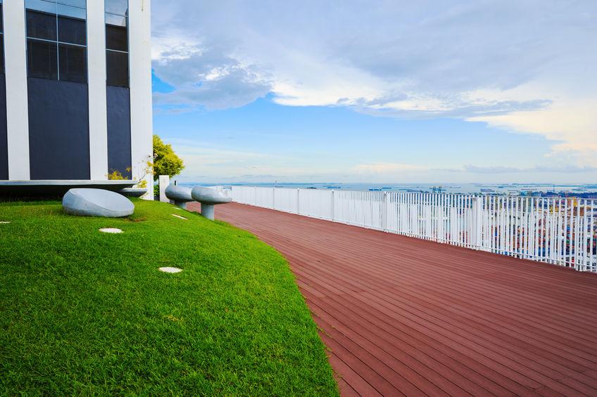Pinnacle's rooftop sky garden - PropertyGuru Singapore