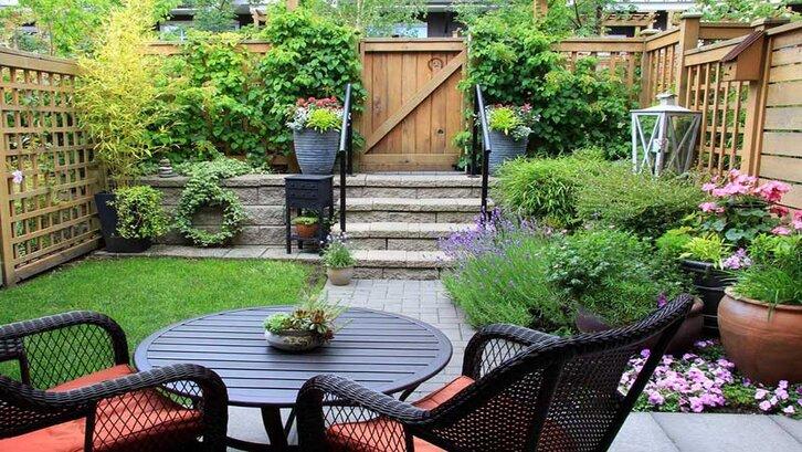 Taman belakang rumah minimalis yang ringkas.(Foto: cultivationstreet.com)
