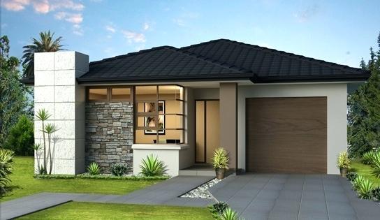 7 Bentuk Rumah Minimalis Modern Lengkap Dengan Denah Rumah Com