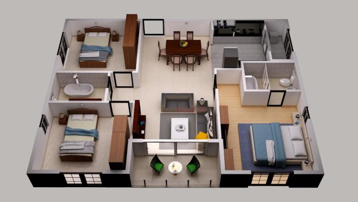 Desain Rumah Minimalis Ukuran 7x14  yuk hitung biaya bangun rumah tipe 45 rumah com rumah com