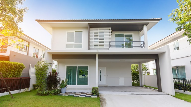 Desain Rumah Minimalis Dapur Di Depan  desain depan rumah minimalis terbaru rumah com rumah com