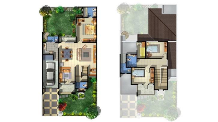 Contoh Denah Rumah Persegi Panjang ini gambar denah rumah minimalis impian anda rumah com