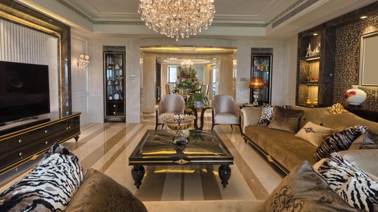 12 Ide Desain Ruang Tamu Mewah Kekinian