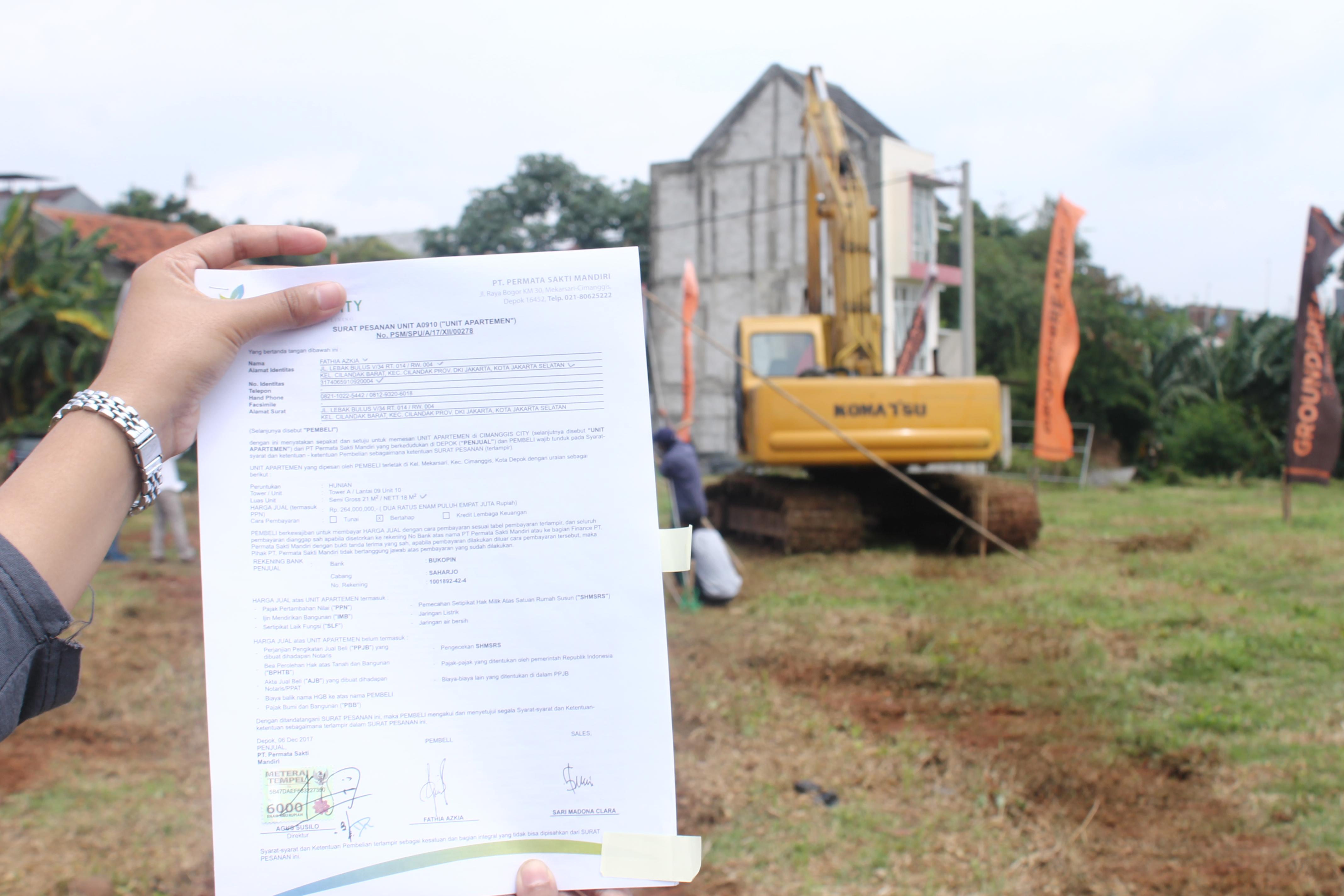 Contoh Surat Perjanjian Jual Beli Tanah Rumahcom