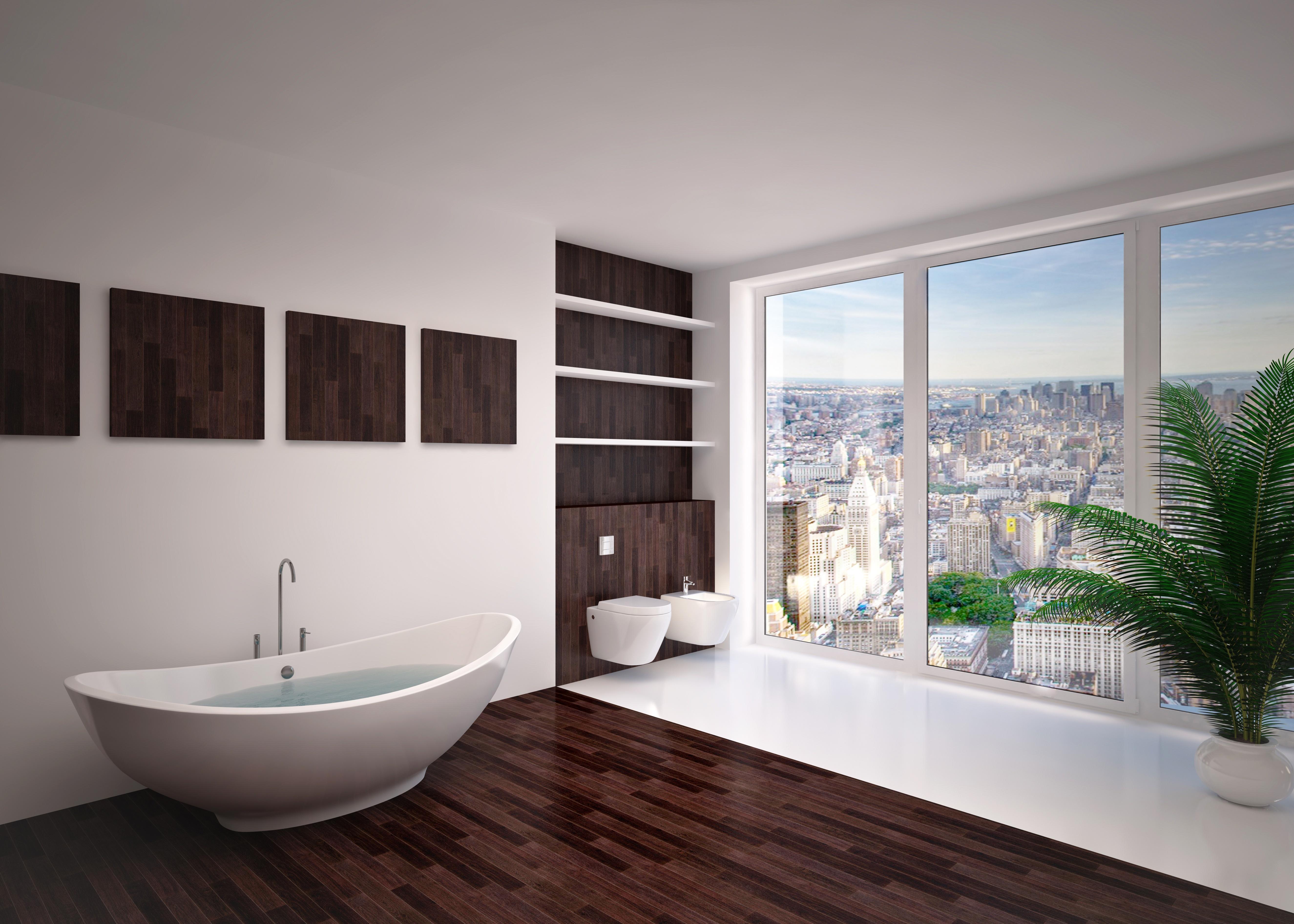 20112528 - modern interior  bathroom in house, apartment