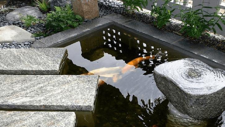 Kolam zen dapat menambah suasana rileks. (Foto: Kohei Owatari/Houzz)