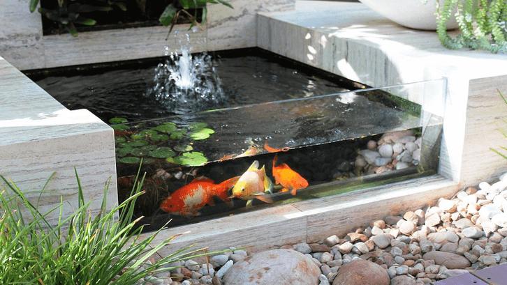 Kolam batu alam granit. (Foto: Tuffarm.com)