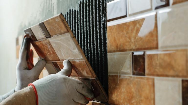 Desain Keramik Dinding Rumah Terbaru Foto Utama