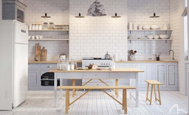 Inspirasi Desain Kitchen Set Minimalis Rumah Com