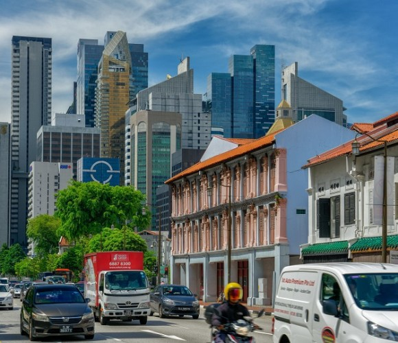 Chinatown is a subzone and ethnic enclave located within the Outram district in the Central Area of Singapore