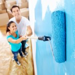 Painting wall home