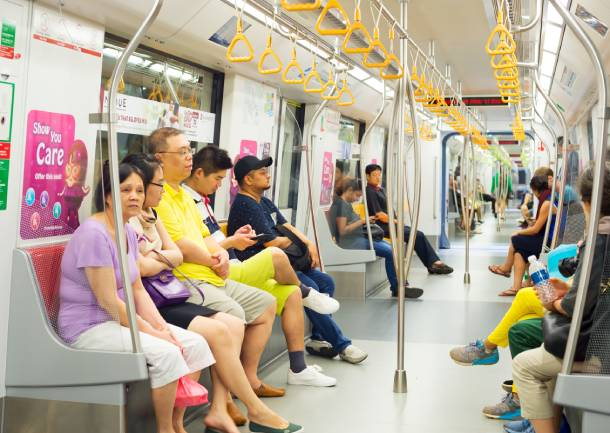 The MRT has long been a key mode of transport in Singapore - PropertyGuru Singapore