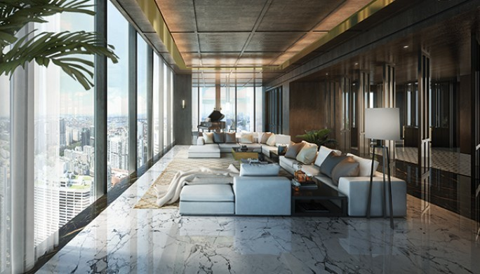 wallrich residence is singapore biggest super penthouse