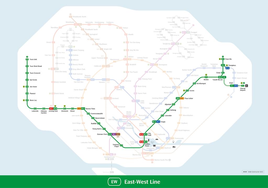 east-west line (ewl)