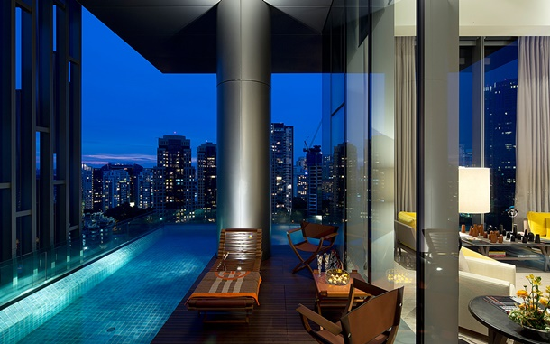 The Marq is one of singapore's biggest penthouses