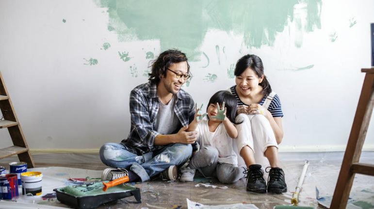 Home renovation, renovate on a budget