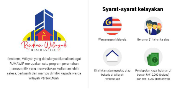 affordable housing, housing project, RUMAWIP, residensi wilayah