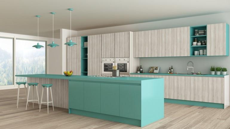 Design Dapur Menyatu Dengan Taman  inspirasi 2020 12 desain ruang dapur minimalis terkini