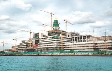 สัปปายะสภาสถาน อาคารรัฐสภาแห่งใหม่ แลนด์มาร์คใหม่ย่าน เกียกกายริมน้ำเจ้าพระยา