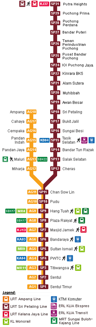 lrt ampang line, lrt sri petaling line, mrt malaysia, lrt malaysia, lrt route map