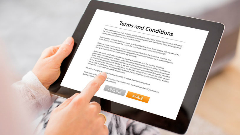 Look out for these terms & conditions in a Tenancy Agreement