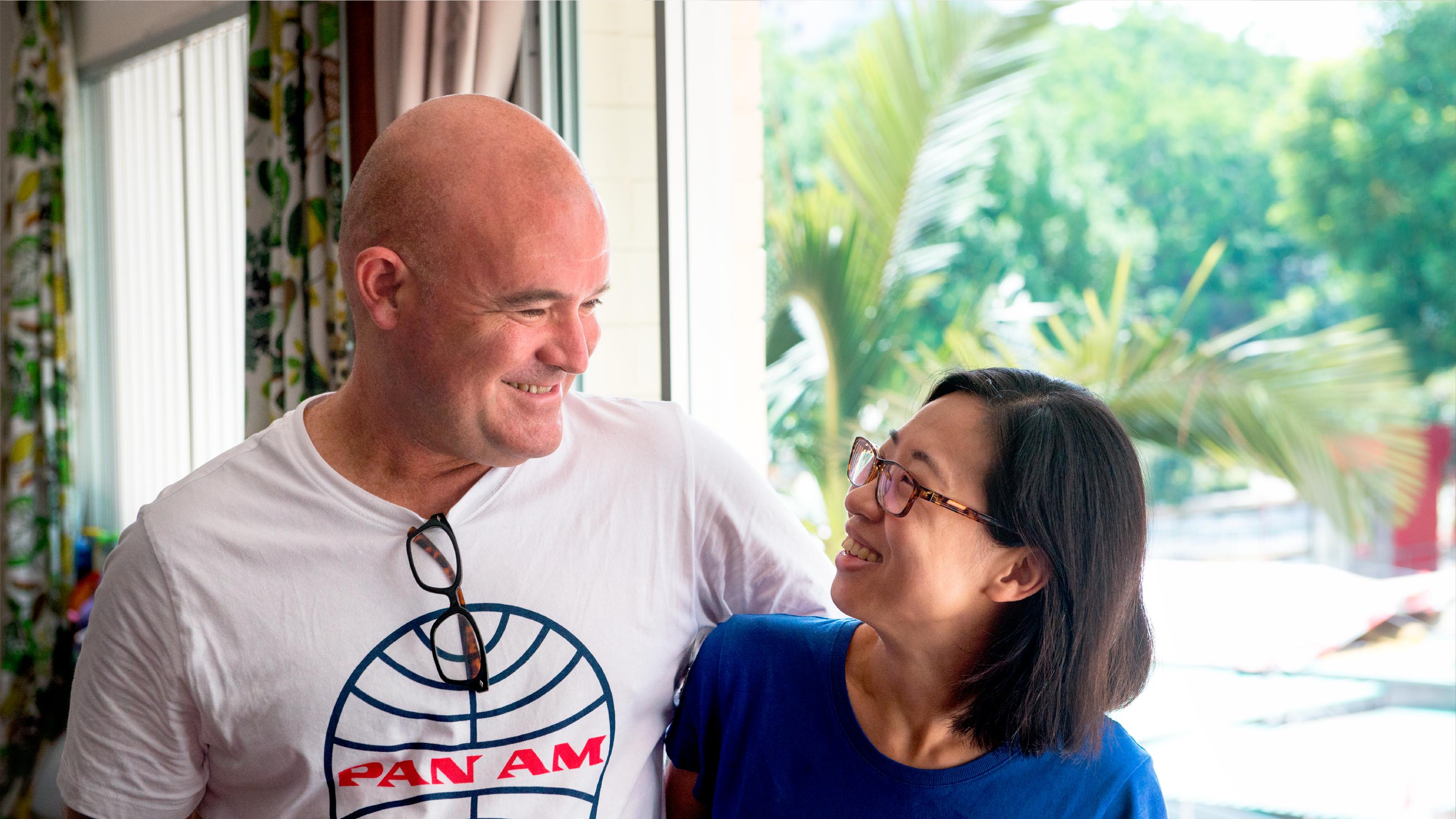 Simon and Ai Ping lives in a 5-room HDB flat in Jalan Bukit Merah