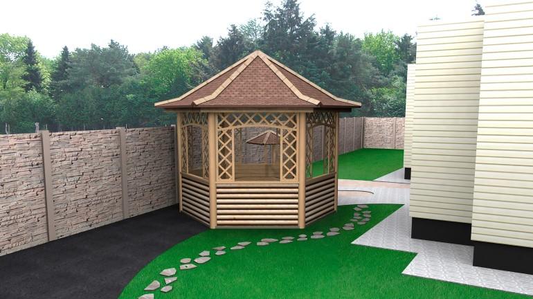 Intip 9 Desain Gazebo Untuk Santai Di Rumah Rumah Com