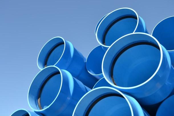 Dengan tingkat keretakan yang lebih rendah, pipa air PVC-O dapat diandalkan untuk saluran air bersih maupun limbah. (Foto: Molecor.com)