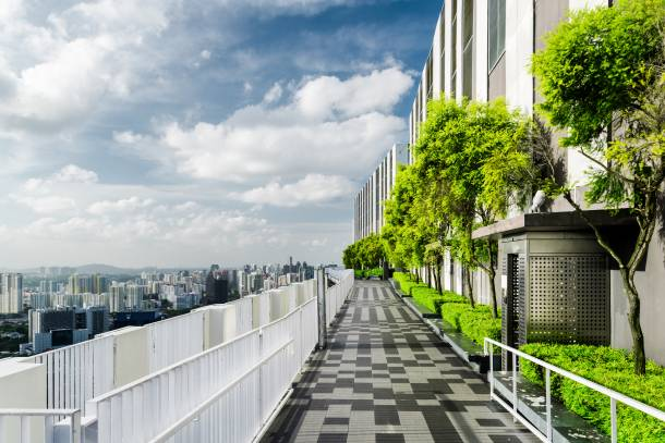 Sky gardens is one of the most refreshing condo facilities found in condominiums