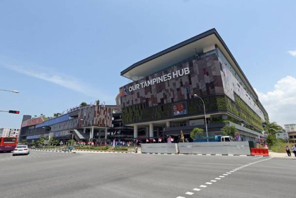Our Tampines Hub is Tampines s newest sports facility