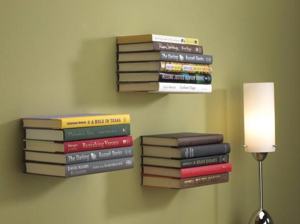15 Desain Rak Buku Minimalis Dinding Rumah Com