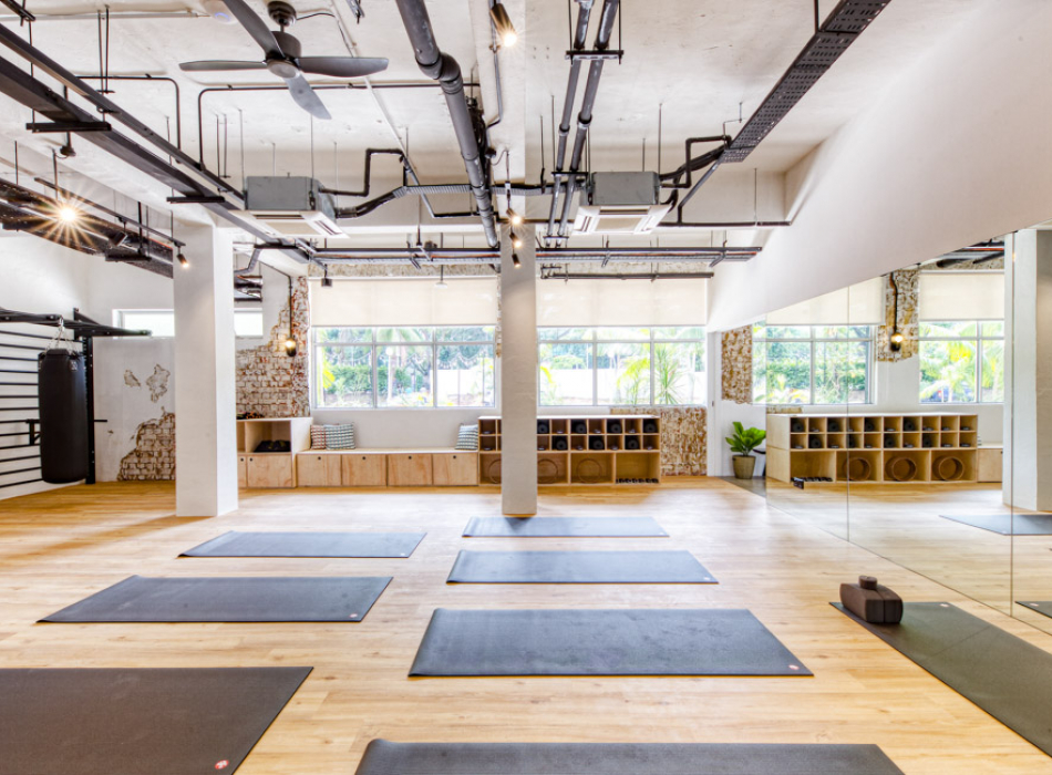 co-living in singapore yoga