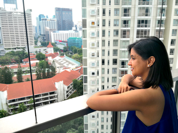 PG Home Stories Richa one-bedroom condo in River Valley