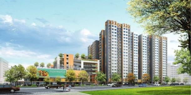 Artist's impression of the SERS replacement flats at Circuit Road