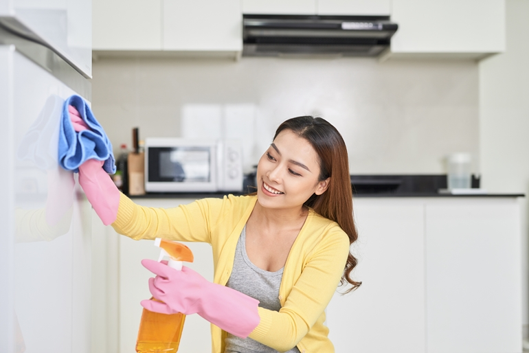ทำความสะอาดจุดสะสมเชื้อโรคอย่างสม่ำเสมอ