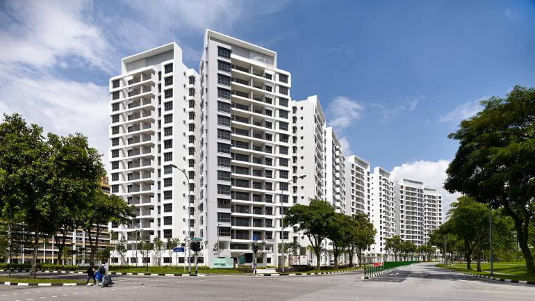 The Adora Green DBSS flats located in Yishun (Source: SAA Group)