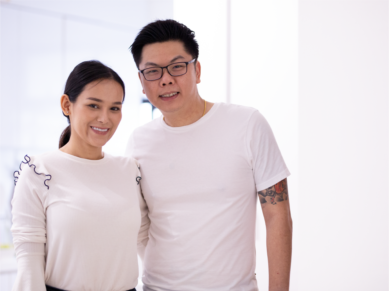Derrick and Patricia met at Thailand PG Home Stories