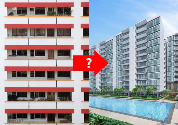 upgrade HDB flat condo executive condominium ec