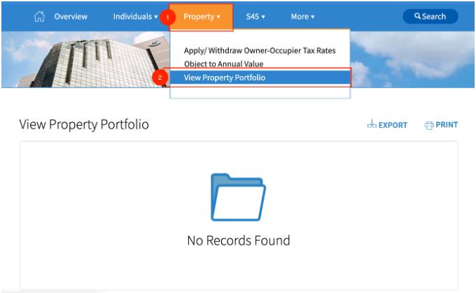 IRAS MyTax Portal To Download Your 'Property Portfolio'