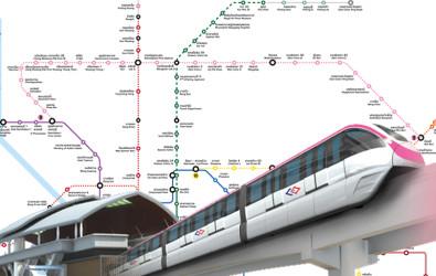 อัปเดตรถไฟฟ้าสายสีชมพู เสร็จเมื่อไหร่ มีกี่สถานี และทำเลรอบ ๆ ที่น่าสนใจ