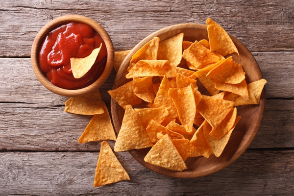 Taco chips is one of the best snacks for hosting a football party