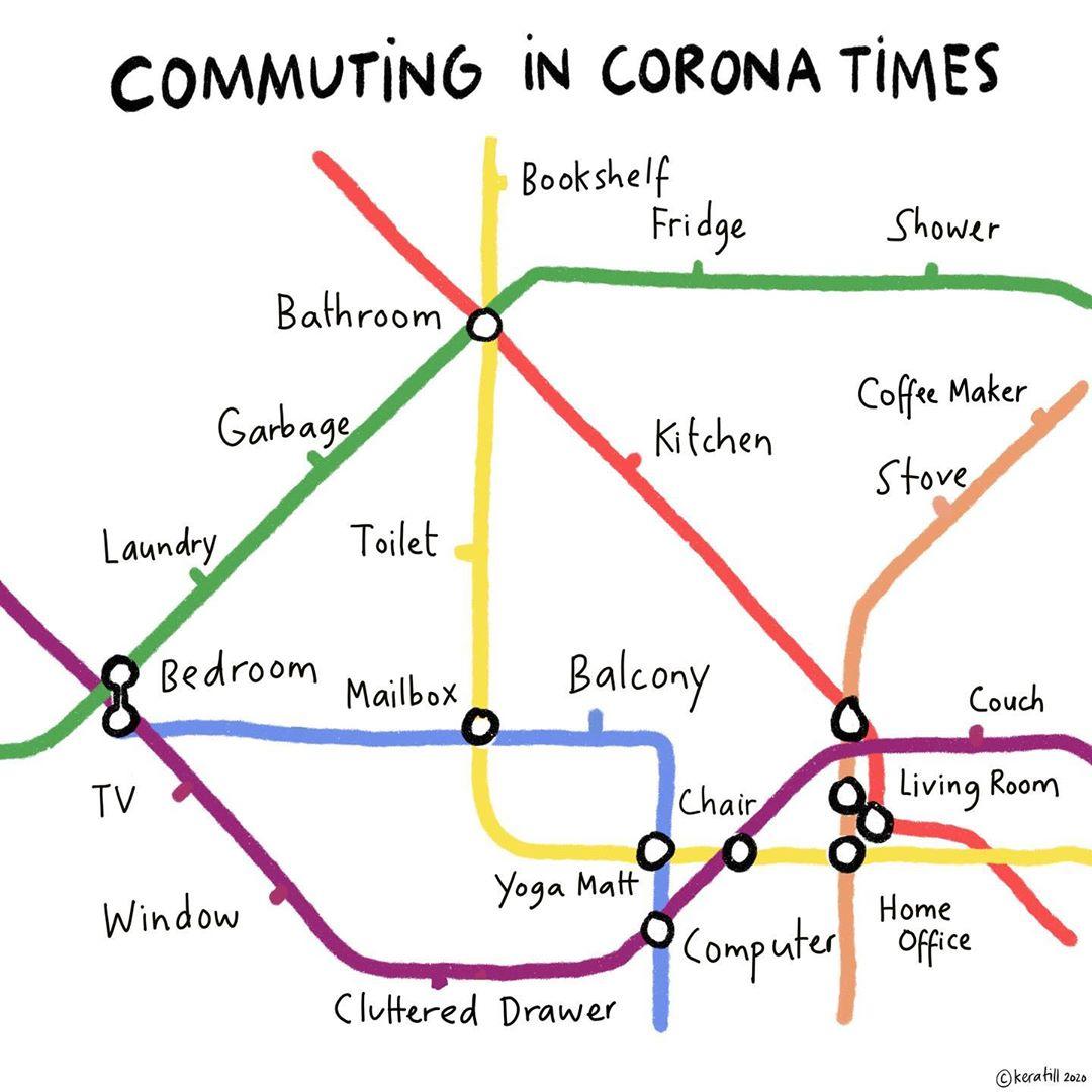 Commuting-To-Work-During-The-Coronavirus