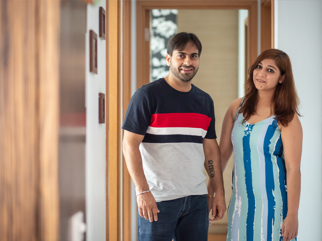 Esha and Prashant Home Stories