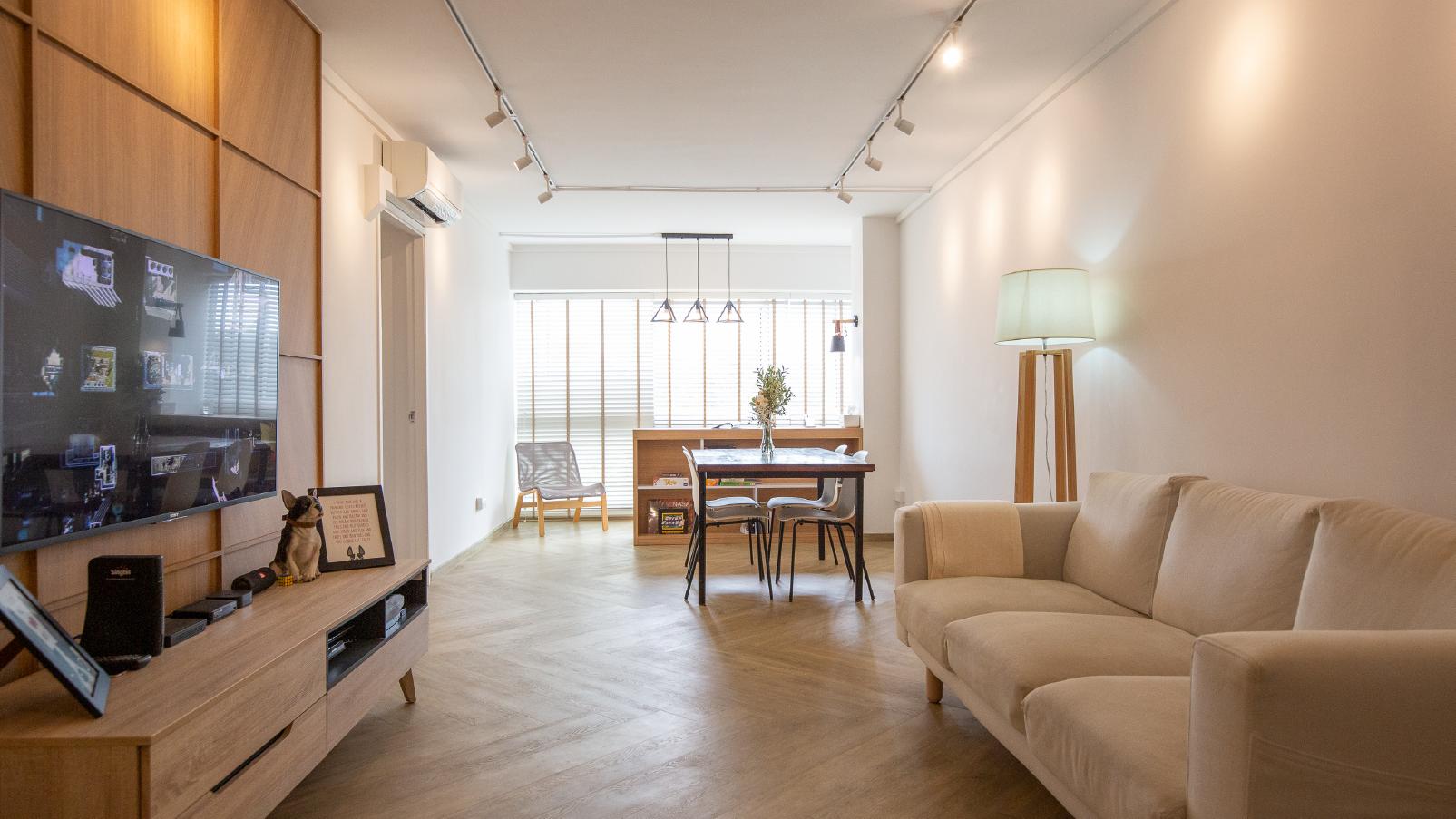 Hazel Chew's airy five-room HDB flat in Tengah