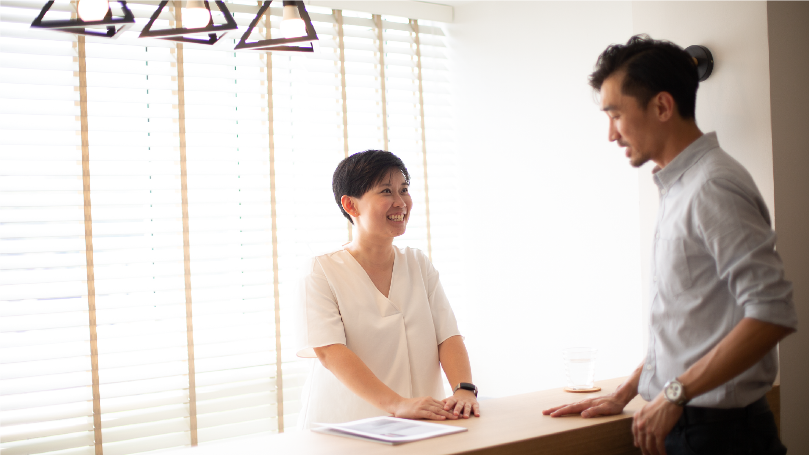 Hazel engaged John from Neu Konceptz to design her five-room HDB home in Choa Chu Kang
