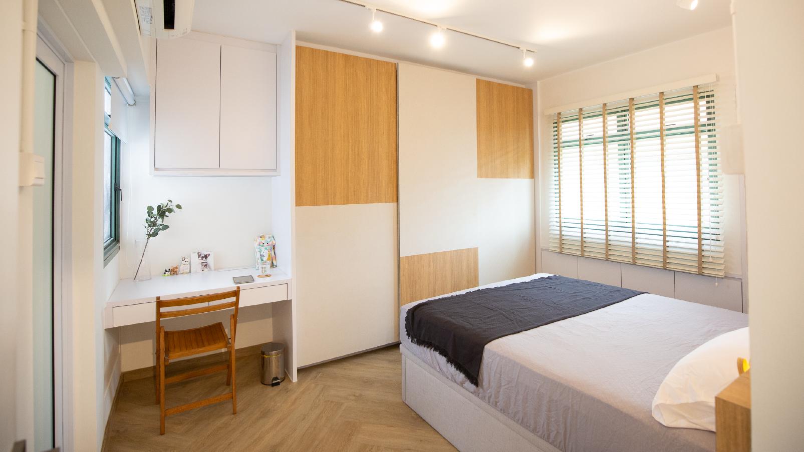 Master bedroom of Hazel's HDB flat in Choa Chu Kang