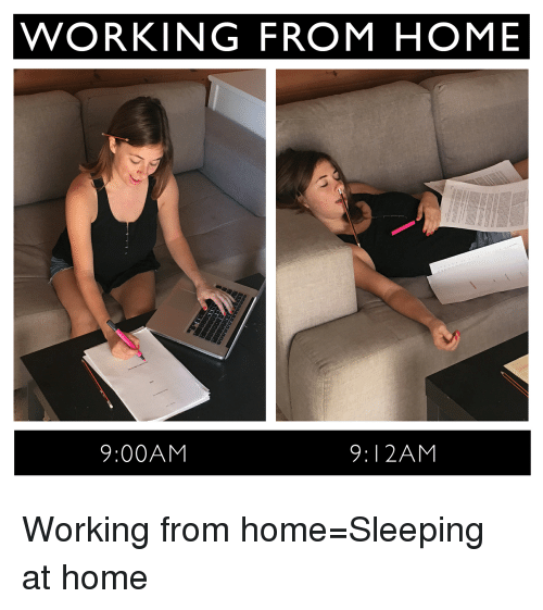 Working-from-home
